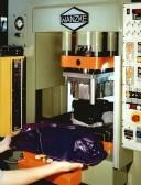 Trimming C-frame press for automotve parts
