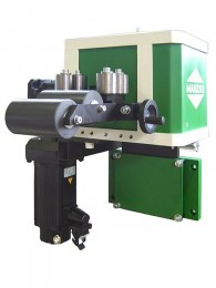 Roll feeder,straightening and lubricating unit