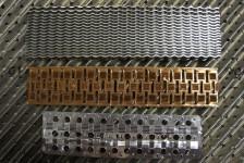 Kühlerlamellen in Edelstahl, Kupfer und Aluminium, in allen Abmessungen und Konfigurationen