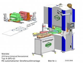ECO Servo Universal Stanzautomat TYP A-SPS-63