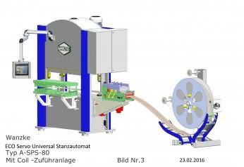 ECO Servo Universal Stanzautomat TYP A-SPS-80