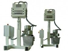 punched strip cutter with hydraulic drive