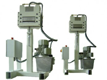Schere (Stanzstreifenzerhacker) mit hydraulischem Antrieb