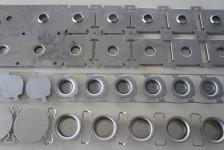 Lagergehäuse für Waschmaschinen, im Folgeverbundwerkzeug hergestellt