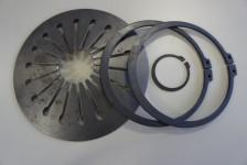 Federringe und Sicherheitsringe in leichter und schwerer Ausführung