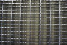 Gitterrost, gefertigt aus Edelstahl, konfektioniert hergestellt (Tailormade)