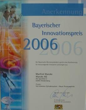 Bayerischer Innovationspreis 2006