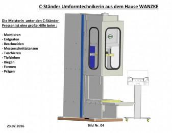 ECO WANZKE C-Ständer Presse